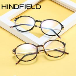644d7699a7 Hindfield ultraligero TR90 Gafas Marco Mujeres Moda Gafas de Lectura  Hombres Oval Vintage Gafas O211 marcos ultra ligeros de gafas promoción