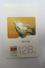 Wholesale Flash Retail - The lowest price cut Class 10 EVO 128GB 64GB 32GB Micr SD Card MicroSD TF Memory Card C10 Flash SDHC SD Adapter SDXC White Orange Retail Pa