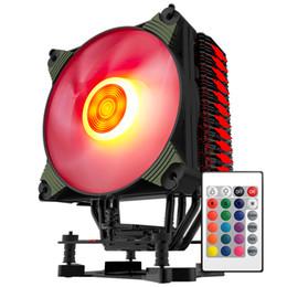Deutschland Aigo ICY K4 CPU Kühler TDP 300W 4 Heatpipes 4pin PWM RGB 120mm Lüfter Kühler für LGA 2011/1151/1155/1156/775/1366 / AM2 + / AM3 + / AM4 supplier am3 cpus Versorgung