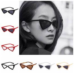 Olho de gato óculos de sol do vintage triângulo camo borboleta óculos de sol  feminino retro frame bowknot óculos eyewear 6 cores ljjo4740 borboleta sol  ... 89d479b279