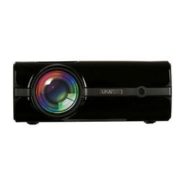 Wholesale mhl vga - 1800 Lumens Mini Video Projector U45 Full HD Projector LCD Home Theater Portable Video Projector 1080P Support AV VGA USB SD HDMI for