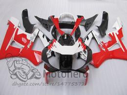 Kits de carenado honda cbr 929rr online-Carcazas 3Gifts White Black Red para HONDA CBR900 RR CBR 929RR CBR 900RR CBR929RR 00 01 ABS CBR 929 RR CBR900RR 2000 2001 Kits de carenado