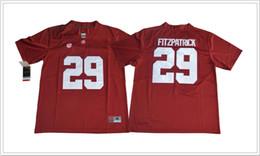 71e247d07 2018 Alabama Crimson Tide  29 Minkah Fitzpatrick Vintage Mens College  American Football Sports Shirts Pro Team Jerseys Stitched Embroidery