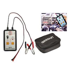 Профессиональный топливный инжектор тестер 4 импульсных режимов авто инжектор детектор 12 В топливная система инструмент автомобиля сопла Диагностика инструмент все Солнце EM276 от