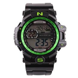 relógio digital de led led vermelho Desconto Novos Relógios Digitais Esportes Silicone À Prova D 'Água Eletrônico LED Horloge Dames em Azul Ouro Verde Laranja Vermelho Branco