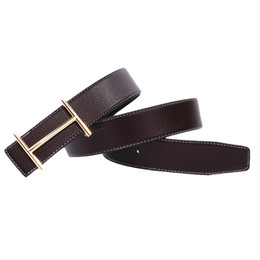 Wholesale H Belts For Women Fashion - Casual H Designer Luxury Brand Belts for Mens Genuine Leather Male Women Jeans Vintage Fashion High Quality Strap Waistband