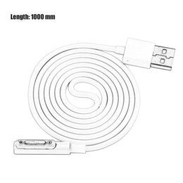 Wholesale Xperia Z1 Magnetic - 1M Magnetic Charging Cable For Sony Xperia Z3 L55t Z2 Z1 Compact XL39h 1pcs sell ZA18701