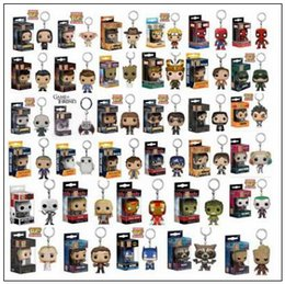 Wholesale Models Years - Funko Pop Movies Superhero Superman of Anime Movie Collection Action Figure Model PVC Keychain Novelty Items CCA9593 50pcs
