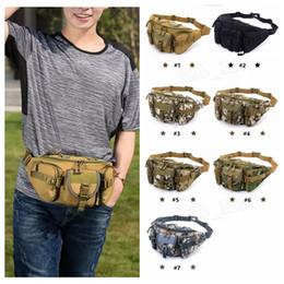 Molle camo taschen online-Mehrzweck Poly Werkzeughalter EDC Pouch Camo Bag Nylon Utility Taktische Hüfttasche Camping Wandern Tasche mit Molle System MMA1098