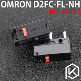 Wholesale Omron Switches - 5pcs lot Free shiping OMRON Micro Switch Microswitch D2FC-FL-NH for Mouse Microswitch Next Generation of D2FC-F-7N 20m