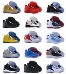 Wholesale High Speed Threading - 2018 New Air 32 Flights Speed Men Basketball Shoes High Quality Airs XXXII Retros 32s Hornets Black Crack Mens Sports Sneakers Size 40-46