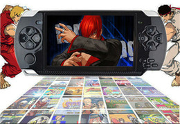 Wholesale Hot Video Player - 2018 hot 4.3 Inch PMP Handheld Game Player MP3 MP4 MP5 Player Video FM Camera Portable 4GB Game Console Free Shipping