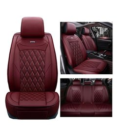 Wholesale Benz Car Accessories - Luxury PU Leather car seat covers For Mercedes Benz A B C D E S series Sprinter Maybach CLA CLK car accessories seat cover
