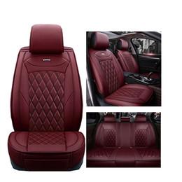 2020 cuoio mercedes benz Coprisedili in pelle PU per Mercedes Benz serie A B C D E S Sprinter Maybach CLA CLK copri sedile auto cuoio mercedes benz economici