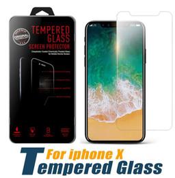 tela samsung s7262 Desconto Para iphone xs max xr vidro temperado iphone 8 plus protetor de tela iphone 6 7 plus film qualidade premium para samsung prime com pacote de varejo