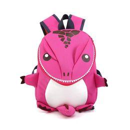 Cartoon 3D Dinosaur School Bags Per Boy Girls Bambini Zaino SchoolBag Toddler Zaino Kindergarten Bambini in età prescolare da