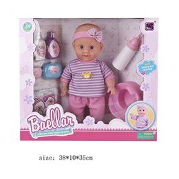 Wholesale Dolls Reborn Baby Kit - baby reborn doll kit toys set for girl simulation baby bdj dolls silicone babies born accessories kids bath toy educational gift