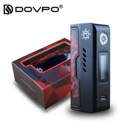 2019 atomizador ruin DOVPO Rogue 100 Electronic Cigarette Mod 100W E-Cigarette Metal Mods para 510 Thread Atomizer Tank Compatible con 18650/26650 atomizador ruin baratos