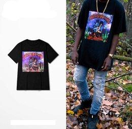 camiseta de rihanna Desconto Rihanna High Street Verão T-shirt Travis Scott Rapper Tees Das Mulheres Dos Homens de Hip Hop Manga Curta Tshirt Mens Padrão de Design de Impressão T-shirt