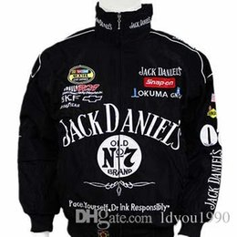 Wholesale unisex clothes plus size - Hot Selling New F1 Racing Suit Jack Daniel Jackets Fall And Winter Clothes Mens Long-sleeved Jacket Motorcycle jacket Drop Shipping