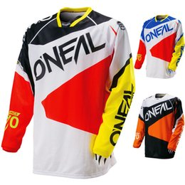 Wholesale Ride Top - cycling jersey 2017 T-shirt riding jacket male quick-drying perspiration Long sleeve summer DH downhill cross-country T-shirt 39