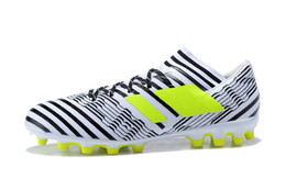 Wholesale New Cheap Soccer Cleats - 2018 NEW ARRIVAL NEMEZIZ 17.3 FG MEN'S SOCCER SHOES DROP SHIPPING HIGH QUALITY CHEAP PERFORMANCE MALE WATERPROOF SOCCER CLEATS FOOTBALL BOOT