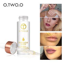 essence de perle Promotion O.TWO.O 24k Or Rose Elixir Peau Maquillage Huile Pour Visage Huile Essentielle Avant Primer Foundation Hydratant Huile Visage Anti-âge Q44