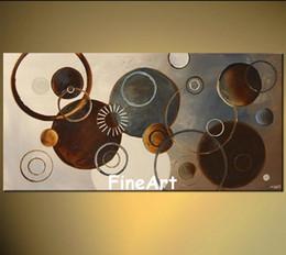 100% peint à la main acrylique peinture sur toile brillante couleur art deco peintures à l'huile de belles oeuvres peintures décoration pour la maison ? partir de fabricateur