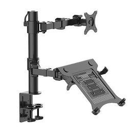 подставка для ноутбука Скидка NBSilence Laptop Mount & Monitor Mount LCD Arm Desk Stand fits 10