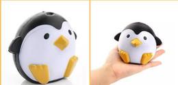 Telefoni cellulari giocattoli online-Squishy Penguin 11cm Slow Rising Toy Decompression Bread Alleviare lo Stress Cake Sweet Animal Telefono Cellulare Ciondolo Telefono Ciondolo Catena Chiave Giocattolo Hot