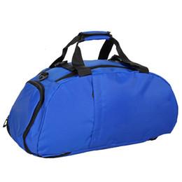 eeffba1037d Men Women Gym Bag Backpack Shoulder Sport Bag Separated Shoes Storage For Fitness  Outdoor Travel Training sac de sport homme