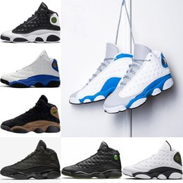 Wholesale wolf table - New Designer 13 13s Mens Basketball Shoes Italy Blue Hyper Royal MTLC GOLD Love Wolf Grey Respect Sports sneakers Eur 41-47