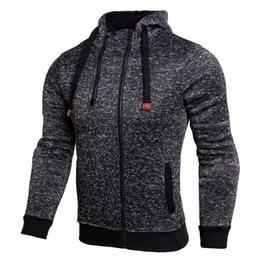 Wholesale black sweater vest men - Autumn new double zipper Long sleeve sweater men's sports shirt plus vest hooded sweater hoodie jacket