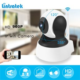 Wholesale Mini Security Cameras Wifi - Howell Surveillance Camera HD 960P mini IP Home Security Camera CCTV Wifi Mini Camera Baby Monitor Indoor IP Cam Two ways Audio Speaker