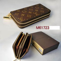 Wholesale Korean Hot Sell - Hot selling, fashion ladies hand bags, women's casual handbags, handbags,Card package ,Double zipper high quality men's purse