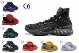Wholesale Games Crazy - New Adi Crazy Explosive basketball shoes basketball game dedicated high-quality fashion socks art outdoor men's sports shoes