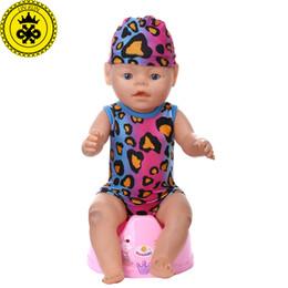 415a58f0588de Bébé né poupée vêtements multicolore léopard maillots de bain + costume à  capuche fit 43cm Bébé né poupée Zapf vêtements poupée accessoires 542