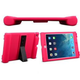 Funda para tableta a prueba de golpes de silicona Funda plegable para soporte de mesa giratoria para iPad 2 3 4 Air 2 Mini 1 2 3 4 OPP Soundmae desde fabricantes