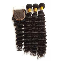 Acheter des cheveux péruviens vierges en Ligne-Acheter cheveux humains vierges en ligne vague profonde tressant les cheveux extrémité complète, 100g par faisceau peruvian vague profonde des cheveux