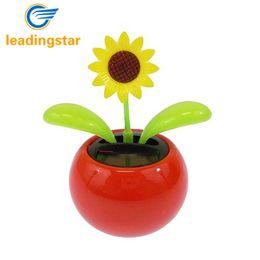 Vente en gros - LeadingStar Solaire Toy Mini Danse Fleur Tournesol Grand comme Cadeau ou Décoration Navire dans Couleur Aléatoire zk25 ? partir de fabricateur