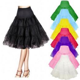 2019 vestido corto colorido 50 años de la vendimia Rockabilly enagua 25