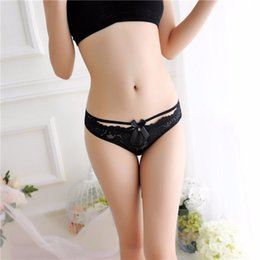 Wholesale women sheer intimates - Underwear Women Sexy Lace Briefs Panties Thongs G-string Lingerie Underwear Intimates Mesh Sheer Cueca Lingerie Sexy Hot Erotic