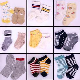 Wholesale girls home sock - Kids socks baby boy girl socks Four Seasons GM children cotton stock Soft Sock Baby colorful home socks