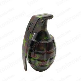 Wholesale Metal Shaping Hand Tools - Metal Hand grenade Shape Herbal Herb Tobacco Grinder Spice Crusher Muller Hookah Shisha Chicha Accessory Grinder Tool