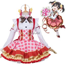 2019 nico yazawa косплей аниме косплей костюмы Love Live School Idol Project Yazawa Nico Flower Bouquet Платье униформы Наряд аниме косплей костюмы скидка nico yazawa косплей
