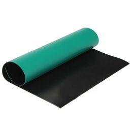 Estera de puesta a tierra anti estática anti ESD de escritorio de Green + black para la reparación los 40cmx30cm de la tableta de la PC del teléfono desde fabricantes