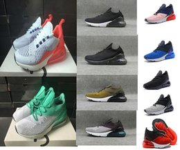 Wholesale round weave - 2018 New Men Casual Shoes For Sale 270 Run Cheap Original High Quality Outdoor 270S Woven Surface Man Shoes Size US 5.5-11