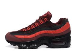 separation shoes 5c46b 7bcc2 2018 Nike Air Max 95 New 95 OG rayure Noir Rose Blanc argent extérieur  Casual Chaussures de course hommes femmes Bottes 95s Athlétique Sport  Sneakers