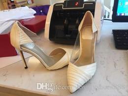 grossiste livraison gratuite New American American sexy mince bout pointu de la mode des dames habillent chaussures de mariage 412 ? partir de fabricateur