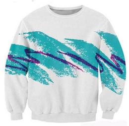Wholesale Jazz Neck - New Fashion Couples Men Women Unisex Jazz Solo Paper Cup Funny 3D Print Sweatshirt outdoors S-5XL AA11